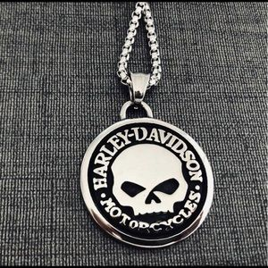 Limited! Just In! HD Willie G Skull Men's Necklace